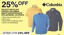 Dunhams Sports Black Friday: Select Regular Priced In Stock Columbia Men's Discontinued PFG Apparel - 25% Off