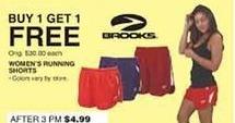 Dunhams Sports Black Friday: Brooks Women's Running Shorts - B1G1 Free