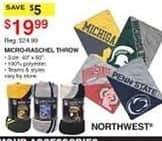 Dunhams Sports Black Friday: Northwest Micro-Raschel Throw for $19.99