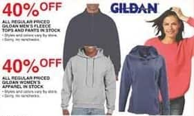 Dunhams Sports Black Friday: All Regular Priced In Stock Gildan Women's Apparel - 40% Off