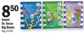 Meijer Black Friday: Select Dr. Seuss Big Books for $8.50