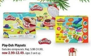 Meijer Black Friday: Play-Doh Playsets for $2.99 - $12.49