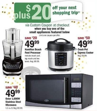 Meijer Black Friday: Hamilton Beach Food Processor + $20 Custom Coupon for $49.99