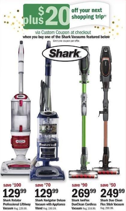 Meijer Black Friday: Shark IonFlex DuoClean Cordless Vacuum + $20 Custom Coupon for $269.99