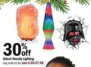 Meijer Black Friday: Select Novelty Lighting - 30% Off