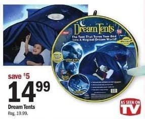 Meijer Black Friday: Dream Tents for $14.99