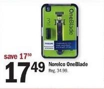 Meijer Black Friday: Norelco OneBlade for $17.49