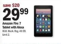 Meijer Black Friday: Amazon Fire 7 Tablet w/ Alexa for $29.99