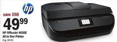 Meijer Black Friday: HP OfficeJet 4650E All-in-One Printer for $49.99