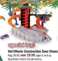Meijer Black Friday: Hot Wheels Construction Zone Chaos for $19.99
