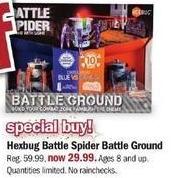 Meijer Black Friday: Hexbug Battle Spider Battle Ground for $29.99