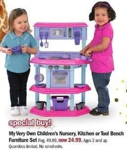 Incroyable Meijer Black Friday: My Very Own Childrenu0027s Nursery, Kitchen Or Tool Bench  For $24.99