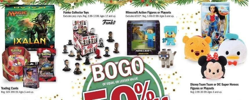 Meijer Black Friday: Funko Collector Toys - B1G1 50% Off