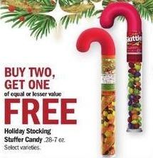 Meijer Black Friday: Holiday Stocking Stuffer Candy - B2G1 Free
