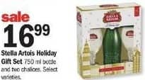 Meijer Black Friday: Stella Artois Holiday Gift Set for $16.99