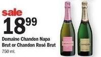 Meijer Black Friday: Domaine Chandon Napa Brut or Chandon Rose Brut for $18.99