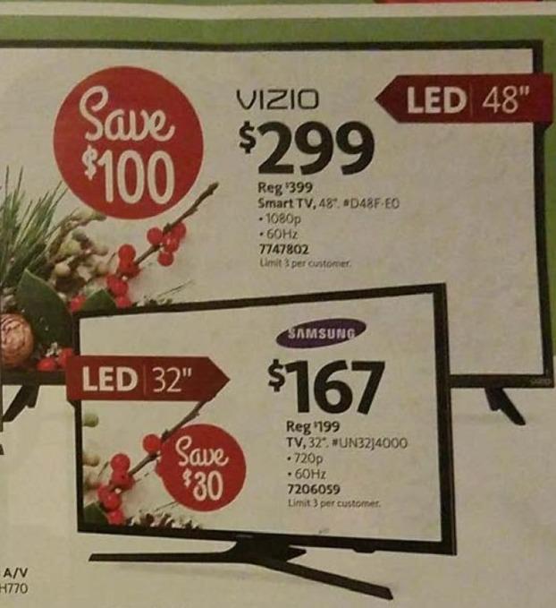 "AAFES Black Friday: 48"" Vizio D48F-E0 1080p Smart TV for $299.00"