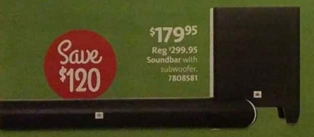 AAFES Black Friday: JBL Soundbar w/ Subwoofer for $179.95