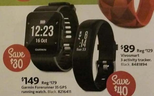 AAFES Black Friday: Garmin Forerunner 35 GPS Running Watch for $149.00