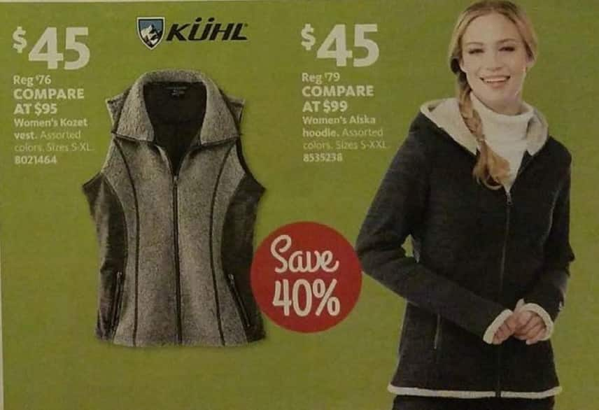 AAFES Black Friday: Kuhl Women's Alska Hoodie for $45.00