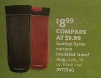AAFES Black Friday: Contigo Byron 2-pk 16 oz Vacuum Insulated Travel Mugs for $8.99