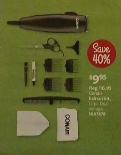 AAFES Black Friday: Conair Haircut Kit for $9.95