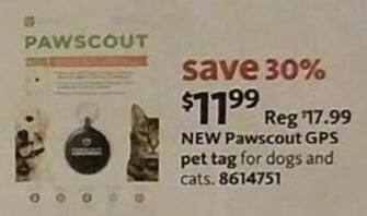 AAFES Black Friday: Pawscout GPS Pet Tag for $11.99