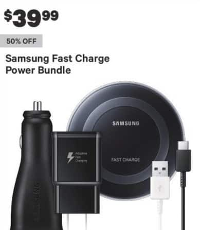 Groupon Black Friday: Samsung Fast Charge Power Bundle for $39.99