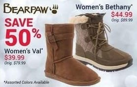 Olympia Sports Black Friday: Bearpaw Women's Val Boots for $39.99