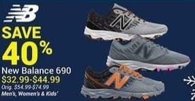 Olympia Sports Black Friday: New Balance 690 Men's, Women's and Kids' Shoes for $32.99 - $44.99