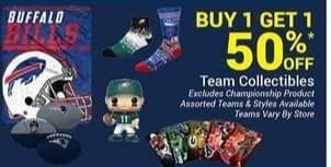 Olympia Sports Black Friday: Team Collectibles - B1G1 50% Off