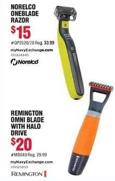 Navy Exchange Black Friday: Remington Omni Blade w/ Halo Drive for $20.00