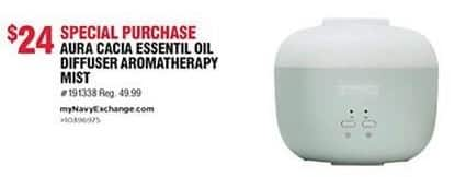 Navy Exchange Black Friday: Aura Cacia Essential Oil Diffuser Aromatherapy Mist for $24.00