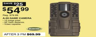 Dunhams Sports Black Friday: Moultrie A-20 Game Camera for $54.99