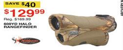 Dunhams Sports Black Friday: Wildgame Innovations 600 Yard Halo Rangefinder for $129.99