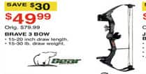 Dunhams Sports Black Friday: Bear Archery Brave 3 Bow for $49.99