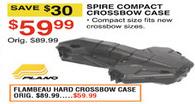Dunhams Sports Black Friday: Flambeau Hard Crossbow Case for $59.99
