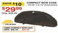 Dunhams Sports Black Friday: Plano Camo Compact Bow Case for $34.99