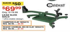 Dunhams Sports Black Friday: Champion Clay Targets for $6.99