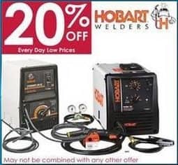 Rural King Black Friday: Hobart Welders - 20% Off