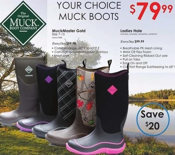 Rural King Black Friday: Muck Ladies Hale Boot for $79.99