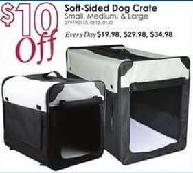Rural King Black Friday: Soft-Sided Dog Crate - $10 Off