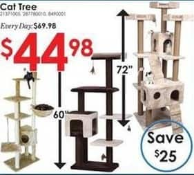 Rural King Black Friday: Select Cat Trees for $44.98