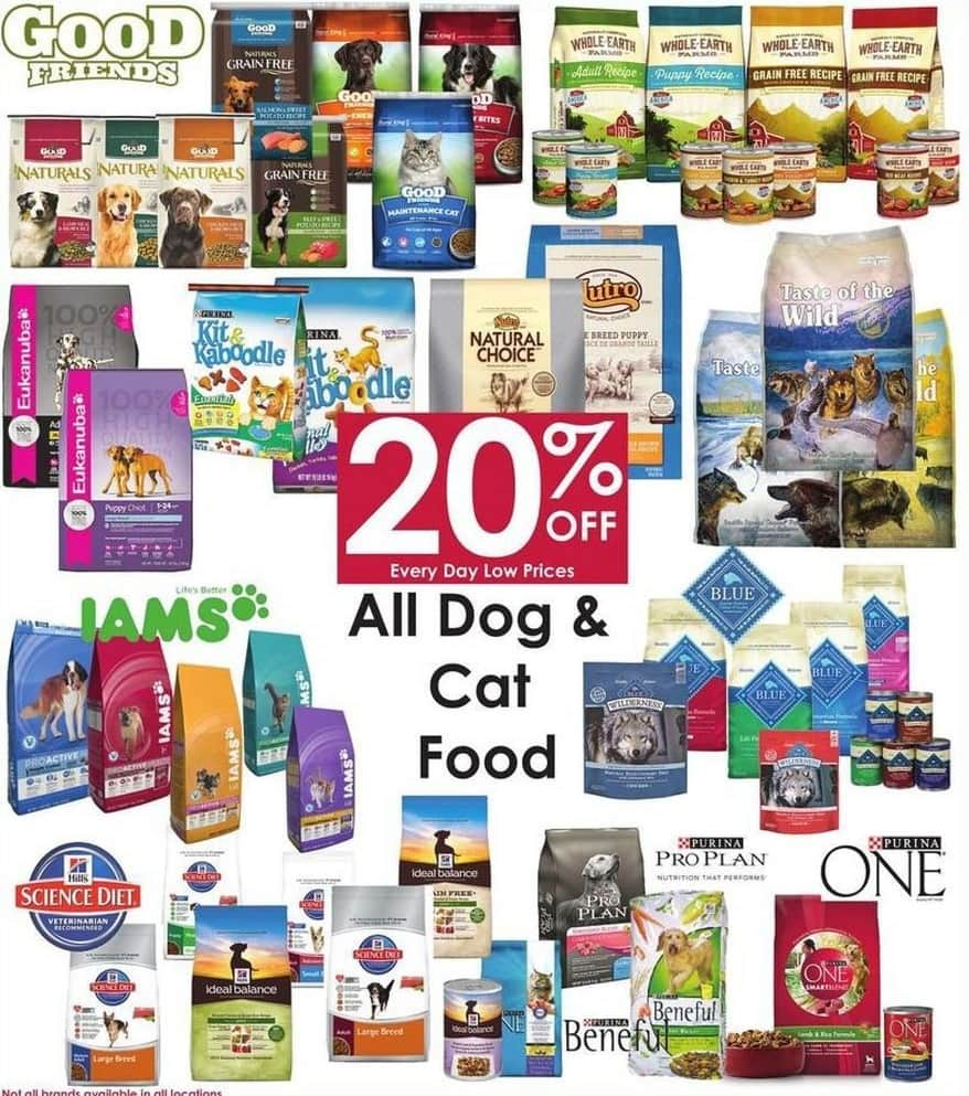 Rural King Black Friday: Entire Stock Dog and Cat Food - 20% Off