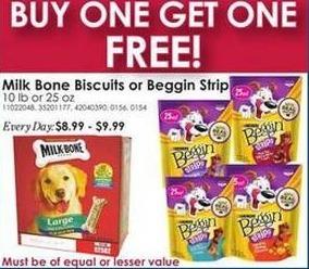 Rural King Black Friday: Milk Bone Biscuits or Beggin Strips - B1G1 Free