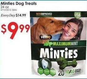 Rural King Black Friday: Minties Dog Treats 24 oz for $9.99