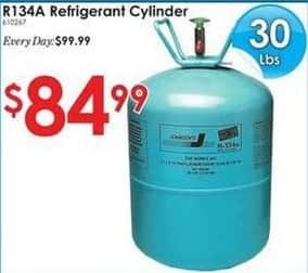 Rural King Black Friday: R134A 30 Pound Refrigerant Cylinder for $84.99