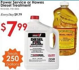 Rural King Black Friday: Power Service or Howes Diesel Treatment for $7.99
