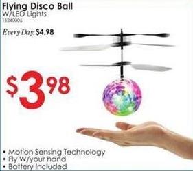 Rural King Black Friday: Flying Disco Ball w/ LED Lights for $3.98