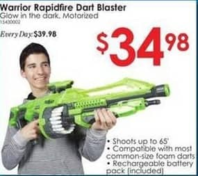 Rural King Black Friday: Warrior Rapidfire Dart Blaster for $34.98